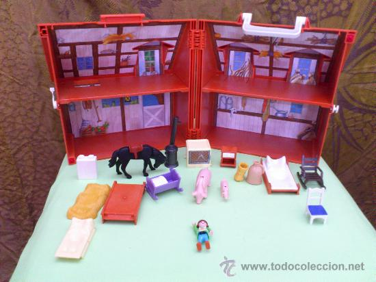 Granja maletin de playmobil comprar playmobil en for La granja de playmobil precio