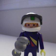 Playmobil: PLAYMOBIL PILOTO MOTOS CON TROFEO FAMOBIL - PLAYMOBIL. Lote 32279450