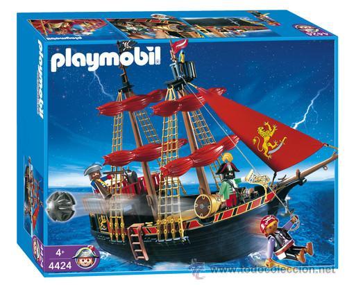 Playmobil 4424 barco pirata completo en caja y comprar for Barco pirata playmobil