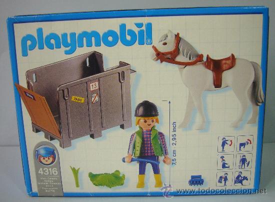 Playmobil: PLAYMOBIL 4316 NUEVO – PARA GRANJA CABALLO PONI REMOLQUE - Foto 2 - 32485952