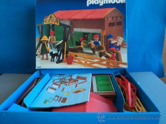 PLAYMOBIL-REF-3436,GRANJA PONY (Juguetes - Figuras de Acción - Playmobil)