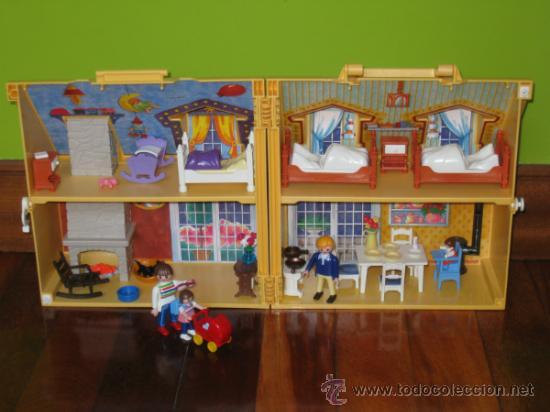 Casa de mu ecas maletin de playmobil comprar playmobil en todocoleccion 32617180 - Gran casa de munecas playmobil ...
