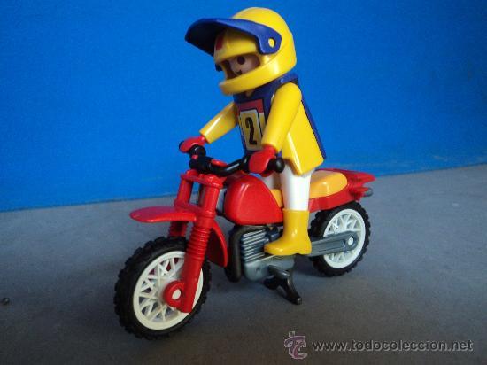 Playmobil moto cross trial comprar playmobil en todocoleccion 32849541 - Moto cross playmobil ...