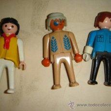 LOTE 3 FIGURAS PLAYMOBIL 1974