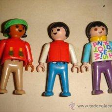 Playmobil: LOTE 3 FIGURAS PLAYMOBIL 1981. Lote 33037606