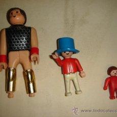 Playmobil: LOTE 3 FIGURAS PLAYMOBIL 1981. Lote 33037613