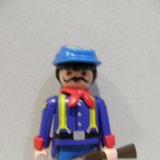 Playmobil: PLAYMOBIL EXPLORADOR NORDISTA SOLDADOS FUERTE SUDISTAS OESTE WESTERN NUEVO . Lote 33221962