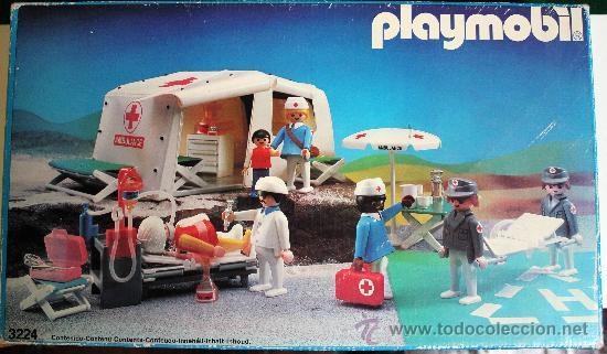 Hospital de campa a playmobil 3224 comprar playmobil en for Hospital de playmobil