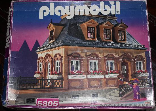 Casa mansi n victoriana playmobil serie rosa 53 comprar for Mansion de playmobil