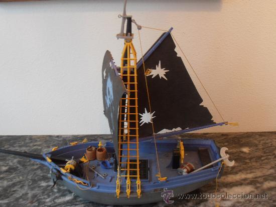 Barco pirata playmobil 1991 geobra comprar playmobil for Barco pirata playmobil