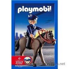 Playmobil: PLAYMOBIL POLICIA A CABALLO REF: 3167 CASA CIUDAD NUEVO EN CASA SIN ABRIR. Lote 51209676