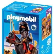 Playmobil: PLAYMOBIL LADRON EGIPCIO ARABE CABALLO REF: 4248 BELEN NUEVO EN CAJA SIN ABRIR PIRAMIDE EGIPCIOS. Lote 47054210
