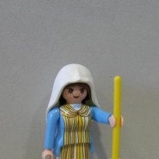 Playmobil: PLAYMOBIL FIGURA MUJER BELEN MARIA GRANJERA MEDIEVAL CASTILLO MEDIEVALES PIEZAS. Lote 79517425