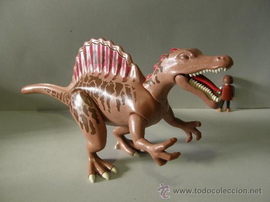 PLAYMOBIL GRAN SPINOSAURUS 38CM DINOSAURIO ANIMALES ZOO PIEZAS (Juguetes - Playmobil)