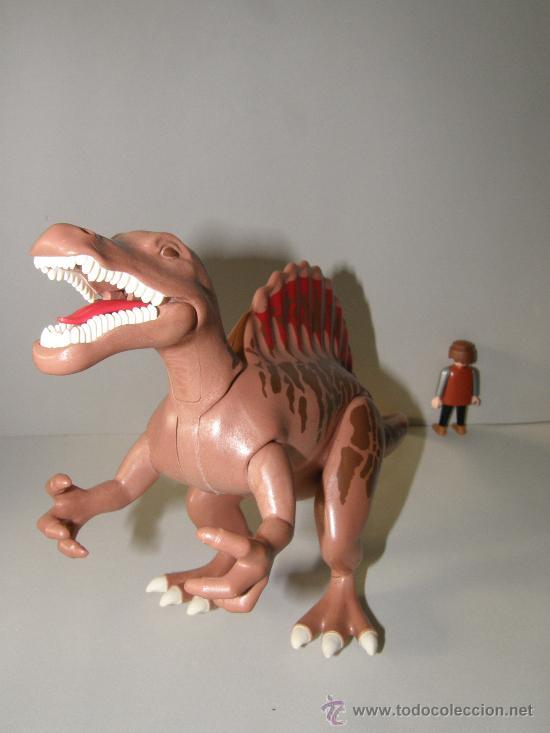 Playmobil: PLAYMOBIL GRAN SPINOSAURUS 38CM DINOSAURIO ANIMALES ZOO PIEZAS - Foto 2 - 146585126