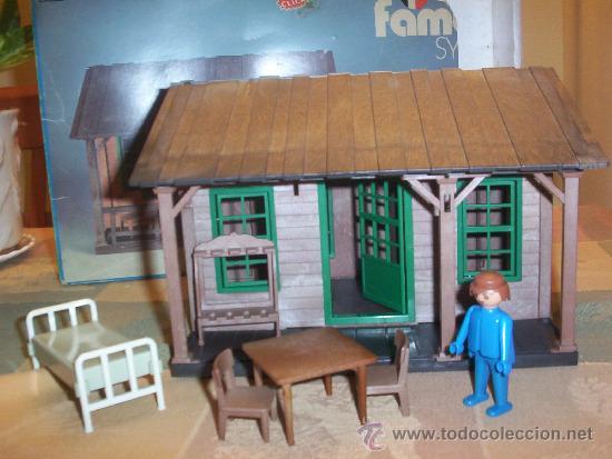 Playmobil famobil casa o granja d comprar for Casa playmobil precio