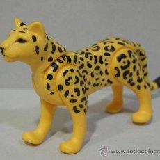 Playmobil: PLAYMOBIL APRECIADO JAGUAR LEOPARDO GUEPARDO ANIMALES SALVAJES JUNGLA SELVA ZOO. Lote 46632698