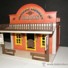Playmobil: PLAYMOBIL 3787 6280 APRECIADO BAR SALOON GOLDEN NUGGET OESTE CASA EDIFICIOS WESTERN PIEZAS. Lote 172988397
