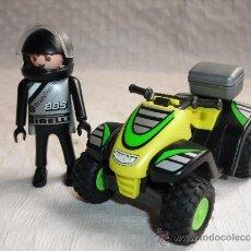 Playmobil: PLAYMOBIL MOTO QUAD COMPETICION AVENTURAS FAMOBIL - PLAYMOBIL. Lote 47374289