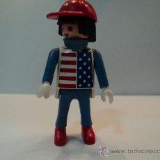 Playmobil: PLAYMOBIL,CIRCO-CON LA CAMISETA AMERICANA-KLICKY,RARO Y DIFICIL DE ENCONTRAR. Lote 34651638