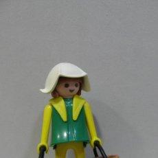 Playmobil: PLAYMOBIL FIGURA MUJER AGUADORA PRIMERA EPOCA MEDIEVAL CASTILLO MEDIEVALES TORNEO PIEZAS. Lote 194183635