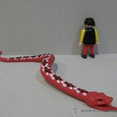 Playmobil: PLAYMOBIL GRAN SERPIENTE PITON BOA ANACONDA 27CM ARTICULABLE SELVA ANIMALES ZOO DINOSAURIO PIEZAS. Lote 136753210