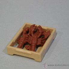 Playmobil: PLAYMOBIL CAJA MARISCO PESCADO LANGOSTAS CANGREJOS TIENDA ALIMENTOS PECES MEDIEVAL CASA PIEZAS. Lote 141949764