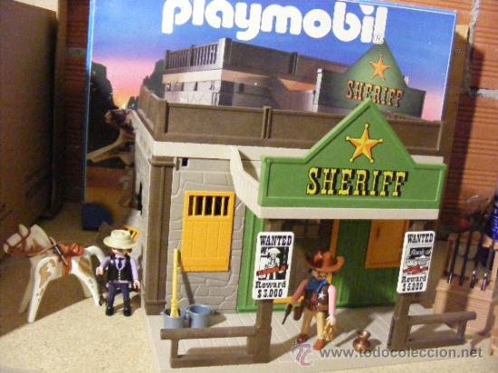 Playmobil casa sheriff oeste western ref 3786 comprar for Casa playmobil precio