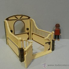 Playmobil: PLAYMOBIL CUADRA CABALLO CABALLERIZA CABALLOS ANIMALES GRANJA ROMANOS MEDIEVAL CASTILLO ZOO. Lote 35460331