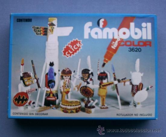 PLAYMOBIL FAMOBIL REF 3620 INDIOS (Juguetes - Playmobil)