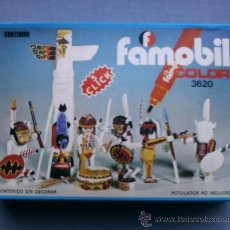 Playmobil: PLAYMOBIL FAMOBIL REF 3620 INDIOS. Lote 35491080