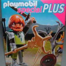 Playmobil: PLAYMOBIL GUERRERO BARBARO VIKINGO CABALLERO MEDIEVAL SPECIAL PLUS FIGURA 5293. Lote 35753853