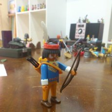 Playmobil: PLAYMOBIL SPECIAL 4541 INDIO CAZADOR LOBO. Lote 35796814