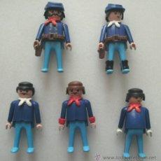 Playmobil: PLAYMOBIL DEL 7º DE CABALLERÍA. ANTIGUOS. Lote 35819837