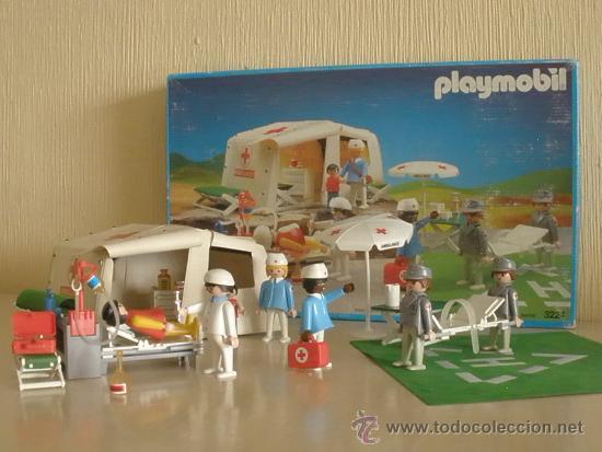 Playmobil hospital de campa a ref 3224 en caj comprar for Hospital de playmobil
