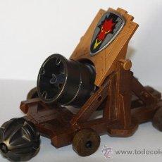 Playmobil: PLAYMOBIL MEDIEVAL CAÑON COMPLETO MORTERO CASTILLO ARMA. Lote 184480921