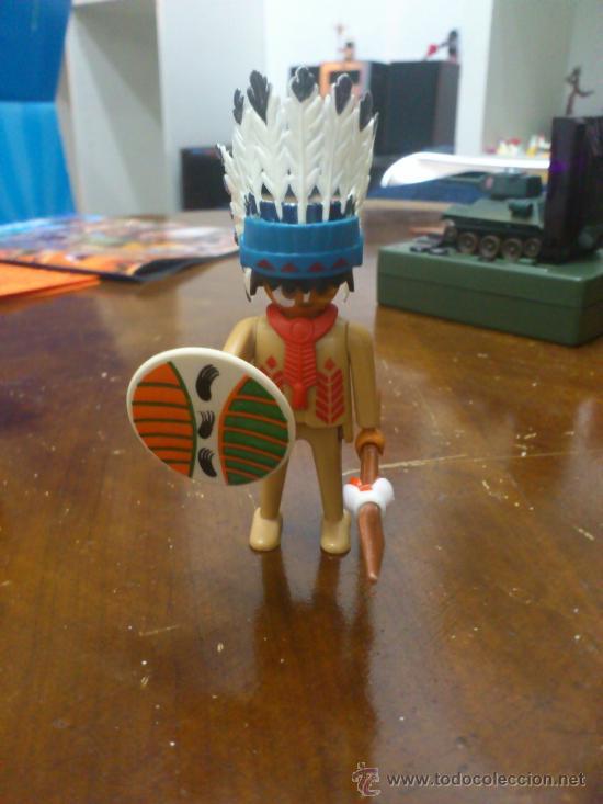 PLAYMOBIL JEFE INDIO (Juguetes - Playmobil)