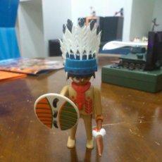 Playmobil: PLAYMOBIL JEFE INDIO. Lote 36113578