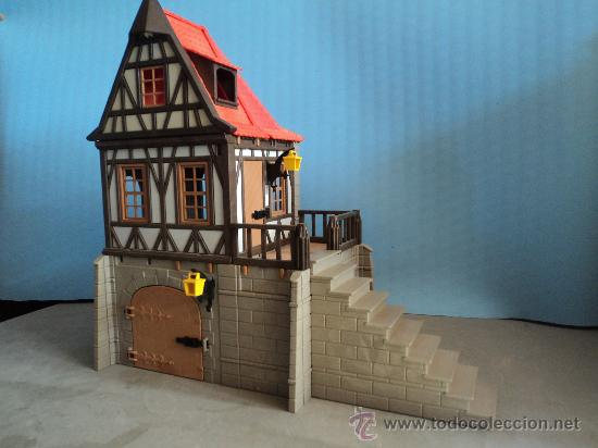 Playmobil casa medieval castillo medieval comprar for Casa playmobil precio