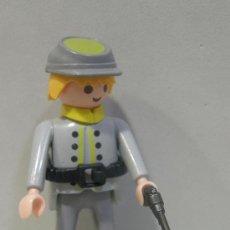 Playmobil: PLAYMOBIL FIGURA SUDISTA FUERTE OESTE WESTERN SOLDADOS NORDISTAS SUDISTAS FUERTE PIEZAS. Lote 83734668