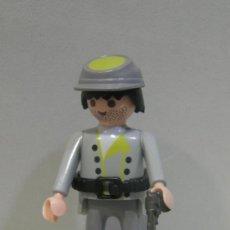 Playmobil: PLAYMOBIL FIGURA SUDISTA FUERTE OESTE WESTERN SOLDADOS NORDISTAS SUDISTAS FUERTE PIEZAS. Lote 83675187