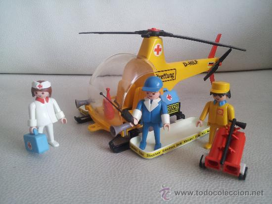 Playmobil 3247 helic ptero adac rescate comprar for Helicoptero playmobil
