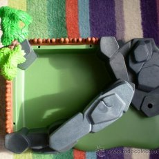 Playmobil: BASE ESCENARIO ROCAS DIORAMA PLAYMOBIL. Lote 36472416