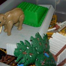 Playmobil: ZOO DE PLAYMOBIL, COMPLETO, SIN CAJA ORIGINAL, NI INSTRUCCIONES. Lote 36479524