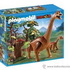 Playmobil: PLAYMOBIL GRAN BRAQUIOSAURIUS ANIMALES DINOSAURIOS DINO ZOO 5231 NUEVO EN CAJA SIN ABRIR. Lote 118299124