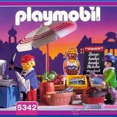 Playmobil: PLAYMOBIL PESCADERIA CASA VICTORIANA TIENDA PESCADO 5342 SERIE ROSA NUEVO EN CAJA SIN ABRIR. Lote 36568661