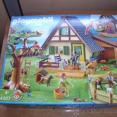 Playmobil: PLAYMOBIL 4207. CASA DEL GUARDA FORESTAL. COMO NUEVO. ABIERTO Y GUARDADO. DESCATALOGADO. Lote 49844798