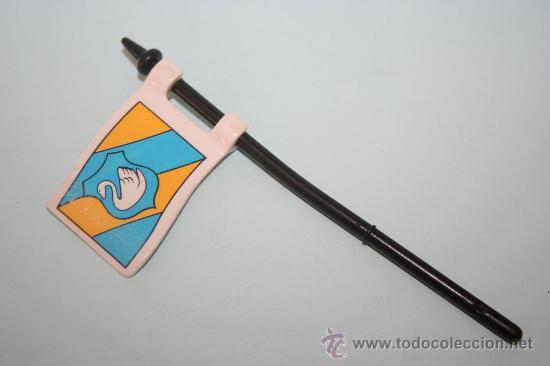 PLAYMOBIL MEDIEVAL BANDERA, ESTANDARTE (Juguetes - Playmobil)
