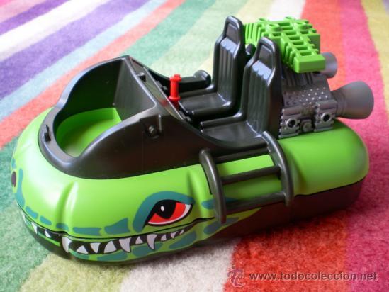 4446 VEHÍCULO PLAYMOBIL ,AERODESLIZADOR LANCHA HOVERCRAFT 2004 (Juguetes - Playmobil)