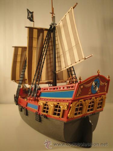 Playmobil gran barco pirata corsario galeon 394 comprar for Barco pirata playmobil